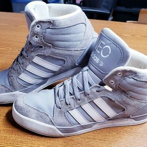 Adidas High Top Gray